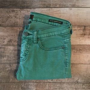 BDG green ankle jeans